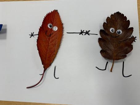 Leaf Monsters in KS1