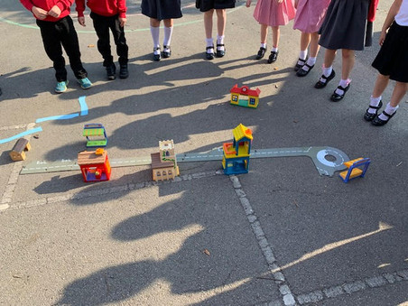 We are Geographers in Y1/2