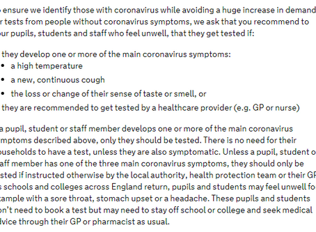 Coughs, colds and coronavirus