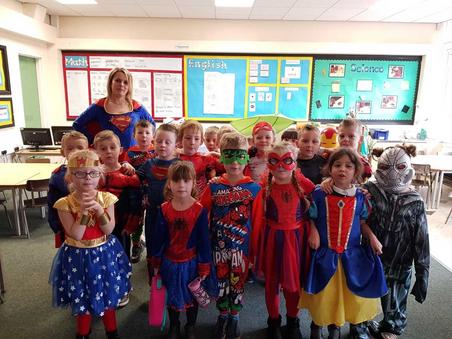 Superheroes in Year 1