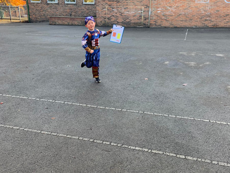 Miss Worthington's Aaaarrrgggghhhhpple Class really enjoyed their treasure hunt!