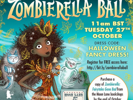 Zombierella Ball - live in your living room!