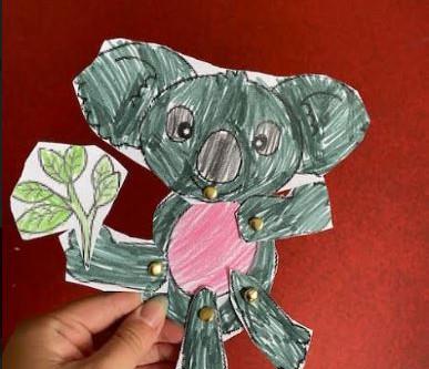 One bubble has gone koala-crazy!