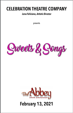 Sweets and Songs Playbill