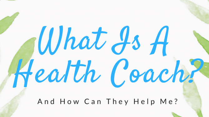 """What even is a """"Health Coach""""??"""