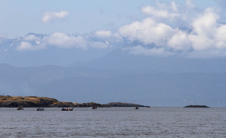Journey of the Tribal Canoes, Vancouver Island