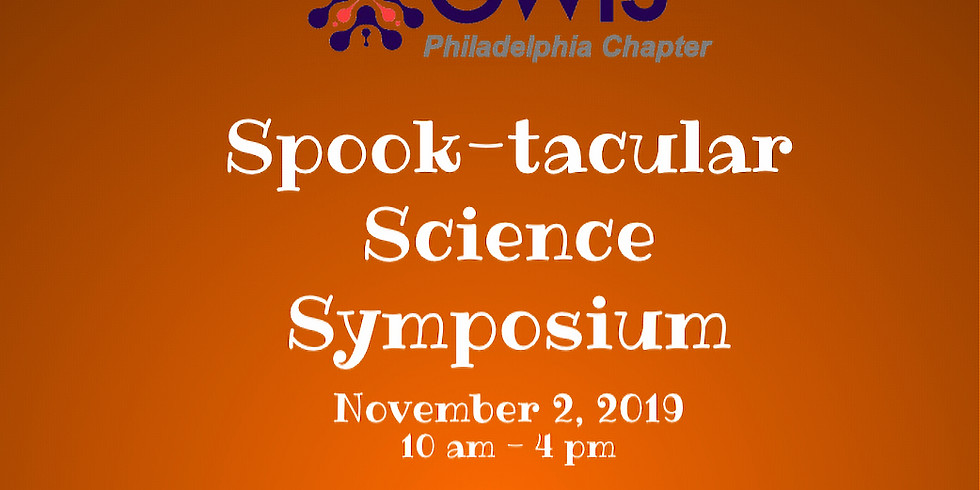 Spook-tacular Science Symposium