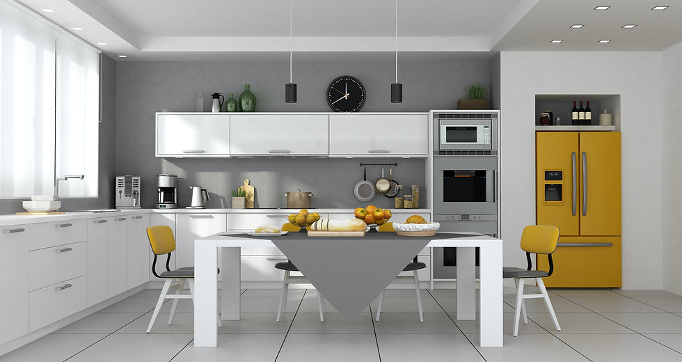 modern-kitchen-with-table-set-and-built-