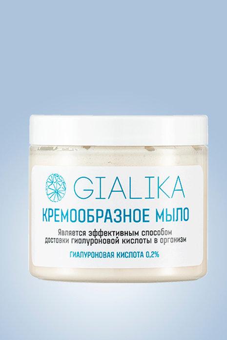 Кремообразное мыло с гиалуроновой кислотой Гиалика