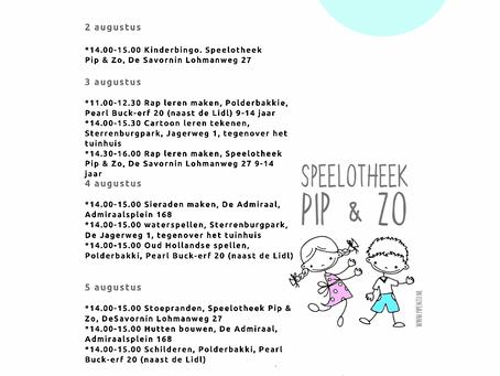 ☀️ Week 31 Zomeractiviteiten
