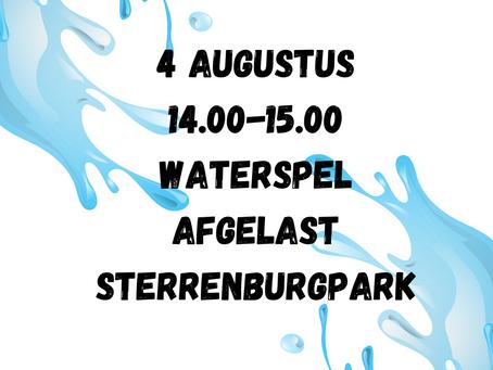 WATERSPEL 4 augustus