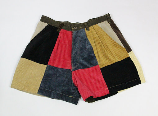 Patchwork Chord Shorts (M)