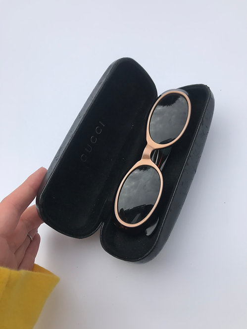 VINTAGE GUCCI OVAL SUNGLASSES