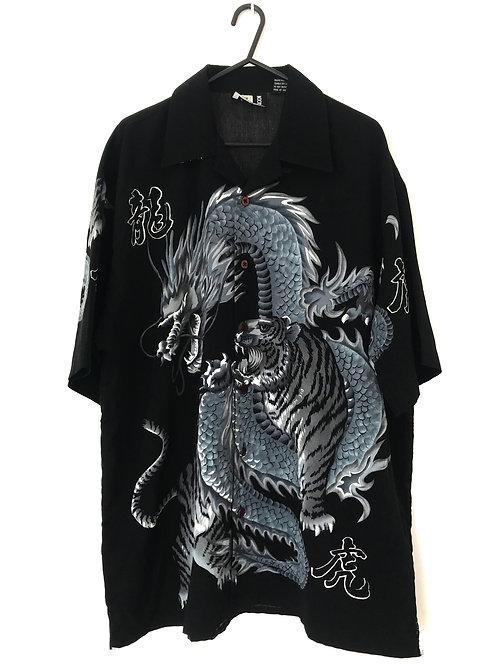 DRAGON X TIGER SHIRT (L-XL)