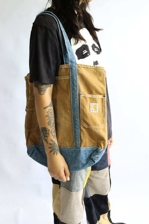 Reworked Carhartt Tote Bag