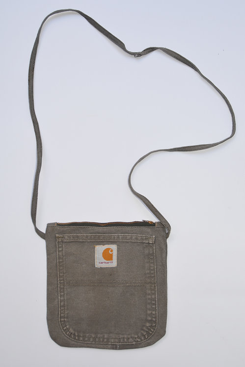 REWORKED CARHARTT CANVAS SIDE BAG