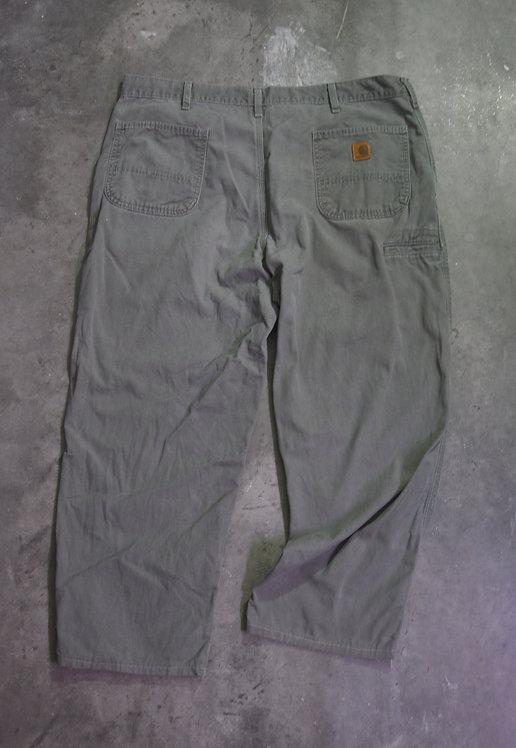CARHARTT DUNGAREE FIT DEEP GREY PANTS (42X30)