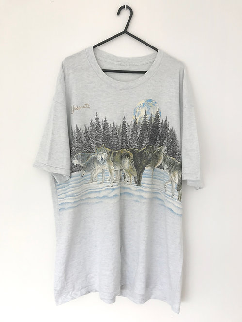 90'S WOLF PACK TEE (L)