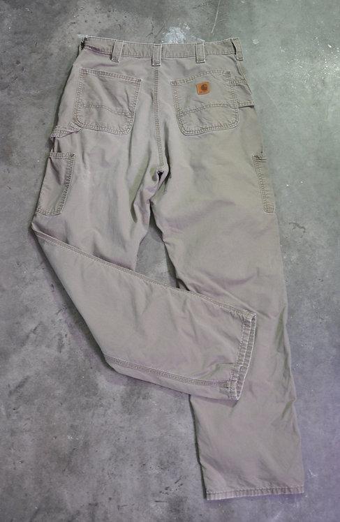 CARHARTT STONE CARPENTER PANTS (34X34)