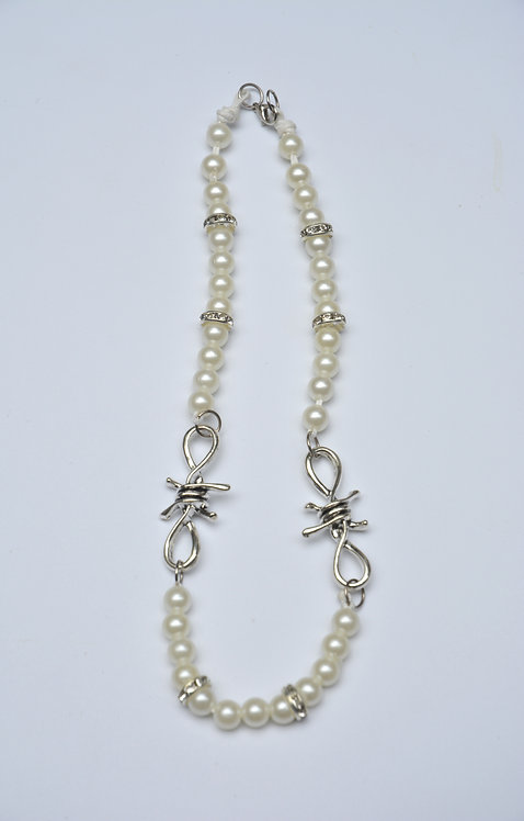 PEARLY BARB NECKLACE (45CM)