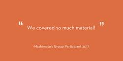 Praise for Holistic Hashimoto's Group