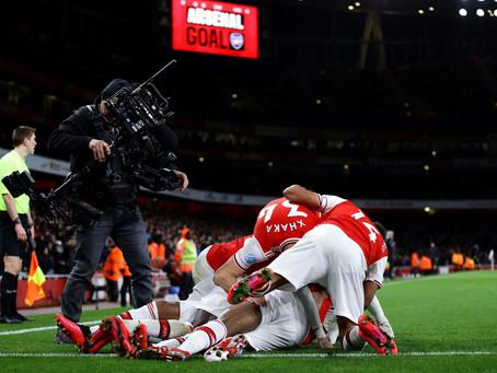 "Arsenal Annihilate Newcastle as the goals and ""Sweet Caroline"" make long awaited return"