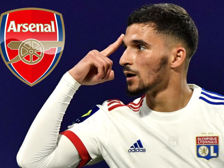 One Year On, Houssem Aouar is still Perfect for Arteta's Arsenal