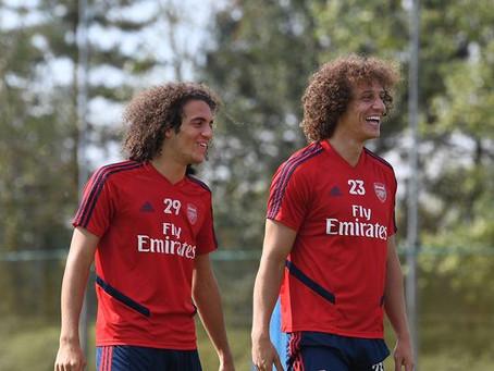 Finton's Frolic: Who's got the better hair, David Luiz or Matteo Guendouzi?