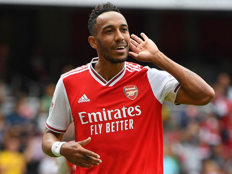 Is Aubameyang actually better centrally than on the left?