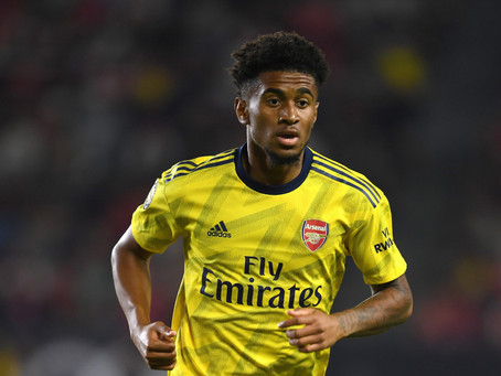 Where does the future of Reiss Nelson lie?
