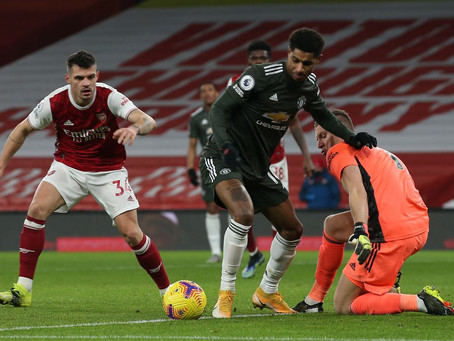 How a depleted Arsenal competed with a full strength United- Tactical Points