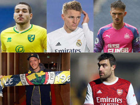 Rob's Round-Up: Odegaard, Buendia, Ozil - Weekly Transfer Update #3
