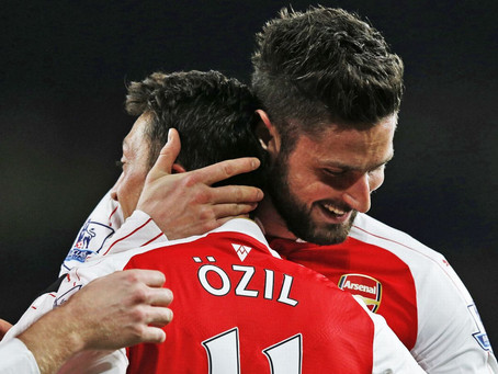 Did Olivier Giroud actually cost Mesut Ozil the assist record and Arsenal the title in 2015/16?