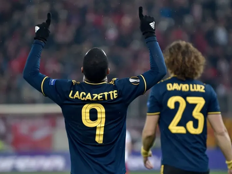 Lacazette winner gives Arsenal excellent victory in the hostile Athens night