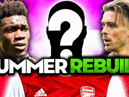 Two new CMs, a GK, an AM, a LB, a RB... Do Arsenal Have too Much to do this Summer?