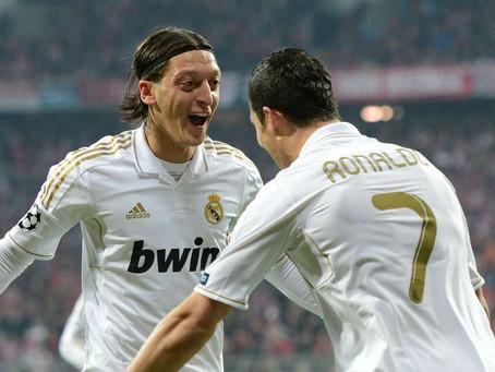 Mesut Özil and Cristiano Ronaldo: a partnership which has gone under football history's radar