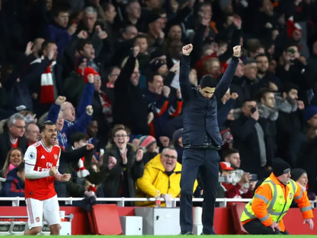 Tactical points from Arsenal's narrow win over Everton