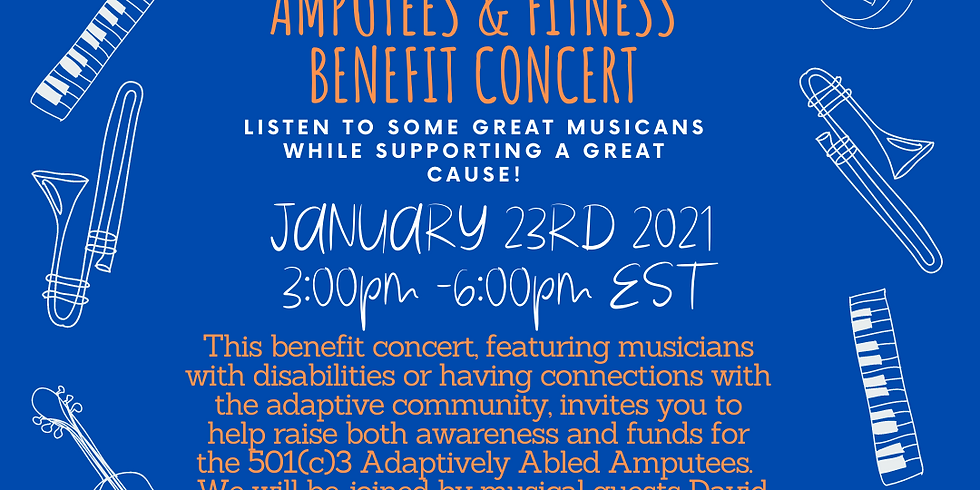Adaptively Abled Amputees & Fitness Benefit Concert