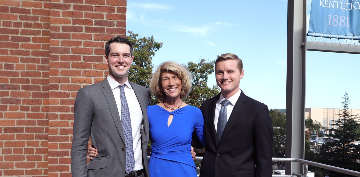 Dr. Martha Heyburn and their sons, Will and Jack Heyburn, proudly contribute to the continued operations of the Heyburn Initiative.