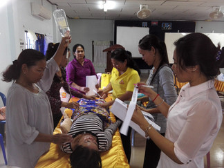 MCAT meetings giving midwives confidence