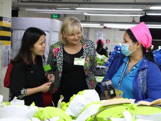 Australian Ambassador for Women and Girls visits CARE's work in garment factories