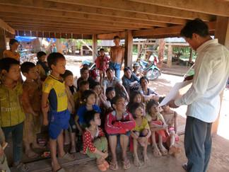 Saving lives in a Jarai community