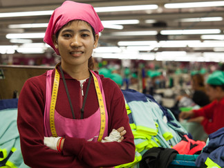 Helping female garment factory workers safeguard their health and future