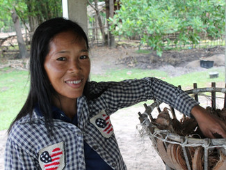 Three layers of resilience help Cambodian woman combat drought on her own