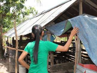 From labourer to leader: how two years of training has transformed this female farmer's life