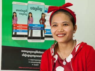 CARE's new mobile app improves sexual health in Cambodian garment factories