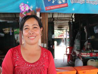Money management skills make Pum the main earner in her family