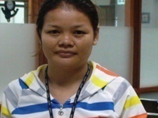 Personal advancement training gives factory worker confidence to make decisions for her family's fut