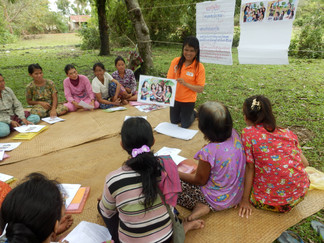 Simple skills help women have their say