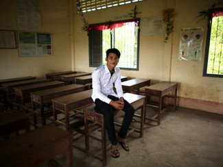 """I am the only person in my family to reach secondary school"""